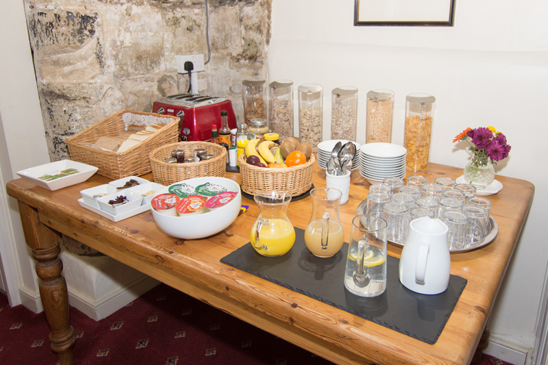 The Abbey Hotel's Breakfast Buffet