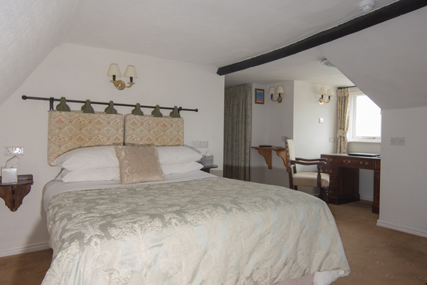 3 room 6 at the Abbey Hotel, Bury St Edmunds, Suffolk