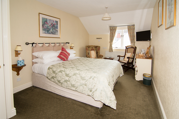 4 room 7 at the Abbey Hotel, Bury St Edmunds, Suffolk