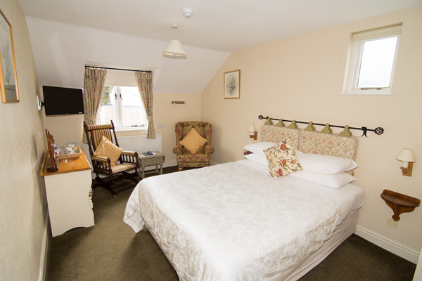 4 room 9 at the Abbey Hotel, Bury St Edmunds, Suffolk