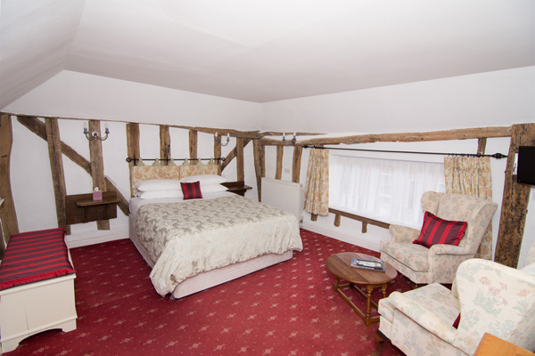 3 room 13 at the Abbey Hotel, Bury St Edmunds, Suffolk